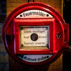 Feuermelder Brandschutz Eichenbrenner Veranstaltungssicherheit EVS Safety Konstanz Bodensee