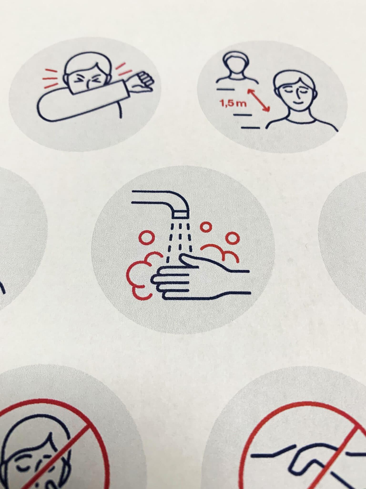 Mitarbeiter-Einweisung in Hygiene auf Veranstaltungen