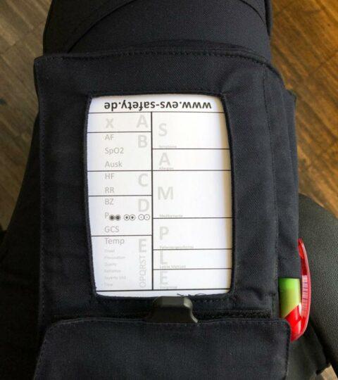 Hosenblock Für Den Rettungsdienst (Paket Mit 10 Blöcken) Mit ABCDE-Schema, Block DIN A6